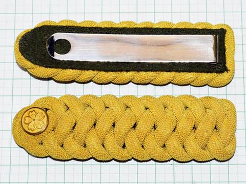 陸軍通常礼装肩章 准尉