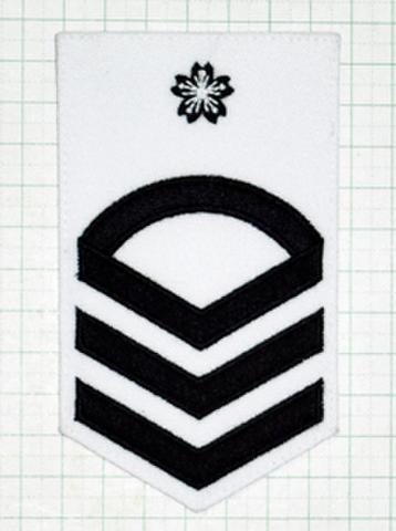 海上自衛隊 一曹階級章