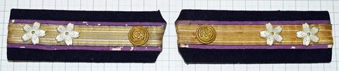 海軍肩章 機関中尉後期型
