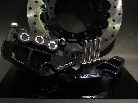 KEITH-BLACKdesign T-MAX 3型 4型(530)用住友MOS 6POTラジアルキャリパーサポート