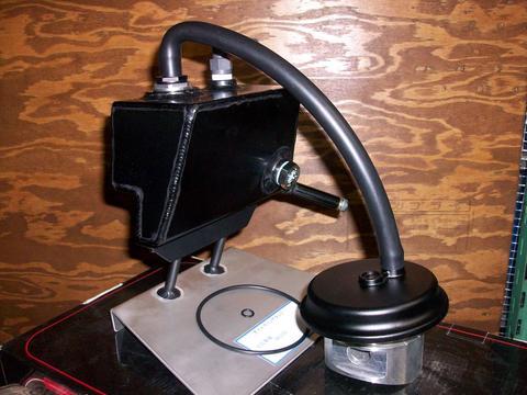 GPz750レデューサーインキャッチタンク