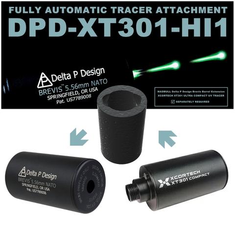 DPD XT301 HI1 ウルトラコンパクト フルオート トレーサー XCORTECH XT301 × MADBULL Delta P Design 専用アタッチメント