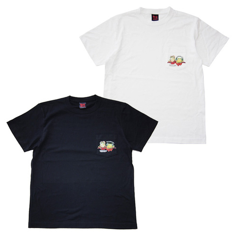 ROCK ONE'S WORLD Anomaly KAERU POCKET TEE