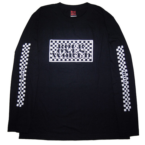 ROCK ONE'S WORLD ロックワンズワールド ROW CHECKER L/S TEE
