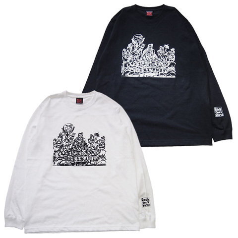 ROCK ONE'S WORLD Anomaly SUPPER L/S TEE