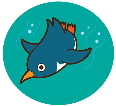 ★泳ぐペンギン★BIR-027
