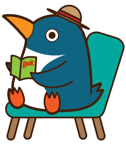 ★本を読むペンギン★BIR-031