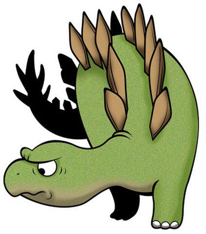 ★ステゴサウルス★DIN-004