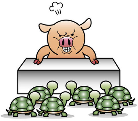 ★逆ギレ豚★PIG-003