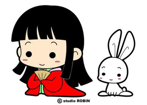 ★かぐや姫&うさぎ★CHI-001