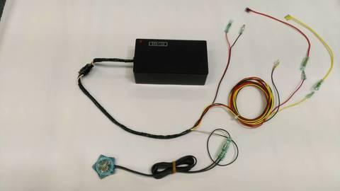 ドライブレコーダー防犯カメラ化ユニットDRS-12U