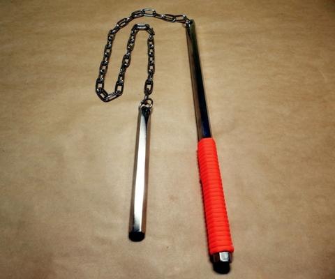 ◆ 鎖打ち棒 ◆分銅鎖 六角・なえし