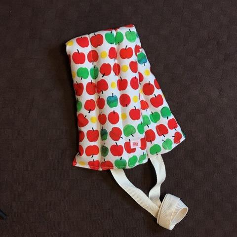 ぬかぶくろ(紐付きロングサイズ)りんごちゃん