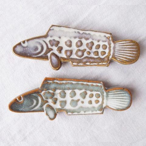 【骨董】魚の形の箸置き/置物