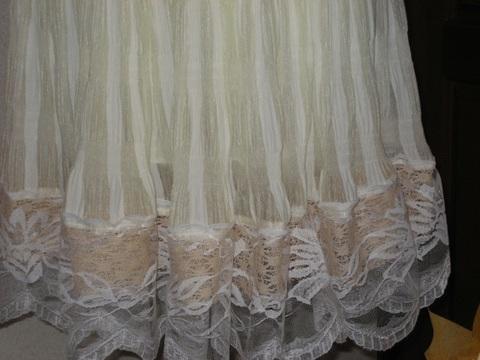 ふりふりレーシーガーゼスカート