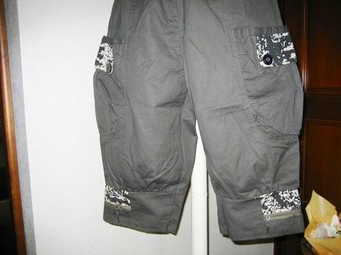 バルーンパンツ(裾ジッパー付き)