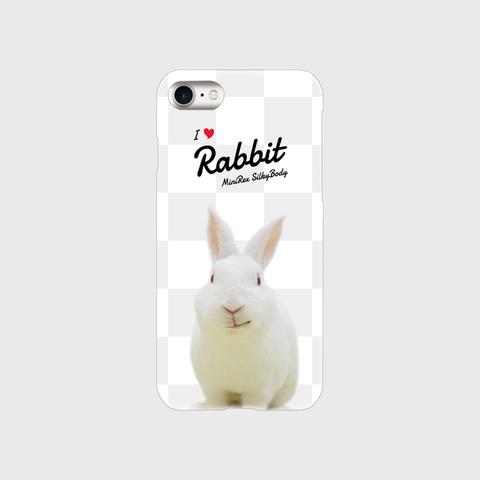 I Love Rabbit やとっしーVer iPhoneケース