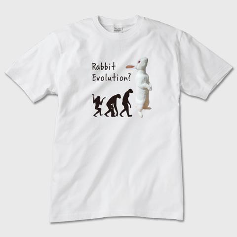 【即納可能】Rabbit Evolution 半袖Tシャツ ユニセックス