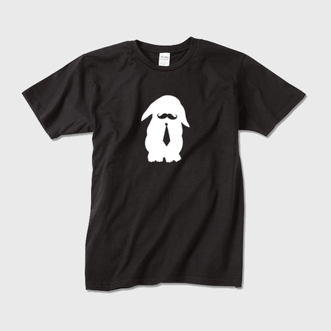 うさぎ男子@ロップイヤー 半袖Tシャツ メンズ・レディース ※文字なしモデル