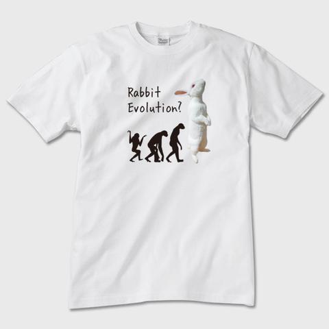 Rabbit Evolution 半袖Tシャツ メンズ・レディース