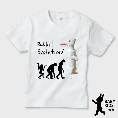 Rabbit Evolution 半袖Tシャツ べビー・キッズ
