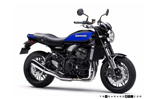 Z900RS ペイント ブラックブルーボール