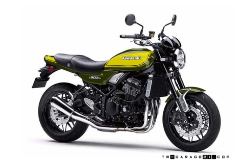 Z900RS ペイント イエローボール