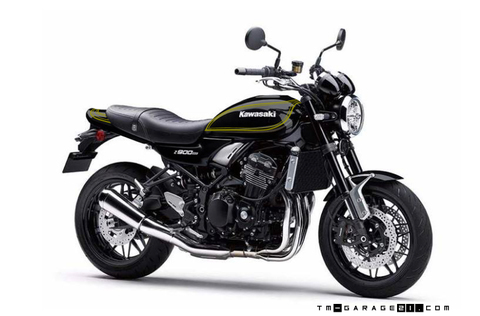 Z900RS ブラックゴールドストライプ