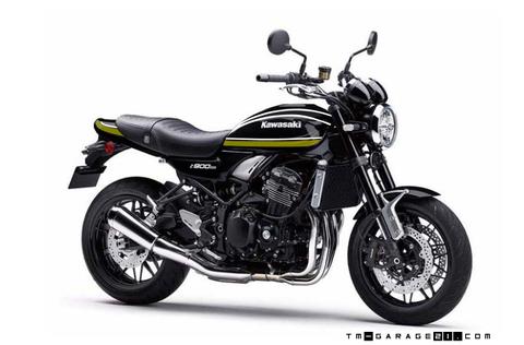 Z900RS ペイント 黒玉虫