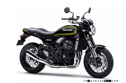 Z900RS ペイント D1ブラック