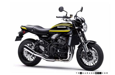 Z900RS ペイント ブラックイエロータイガー