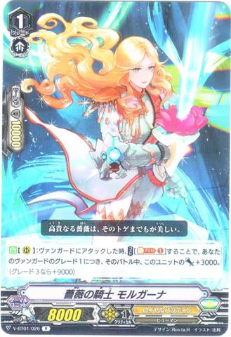 薔薇の騎士 モルガーナ R VBT01/026(ロイヤルパラディン)