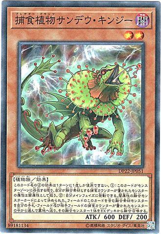 捕食植物サンデウ・キンジー (N/DP22-JP051)捕食植物3_闇2