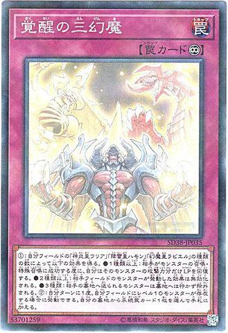 [N-P] 覚醒の三幻魔 (幻魔2_永続罠/SD38-JP035)