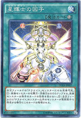 星輝士の因子 (Normal)1_装備魔法