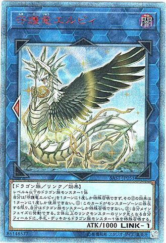 守護竜エルピィ (20th Secret/SAST-JP051)8_L/闇1