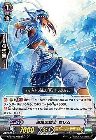 逆風の騎士 セリム R GBT06/025(ロイヤルパラディン)