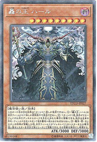 [Secret] 轟の王 ハール (3_闇9/ETCO-JP027)