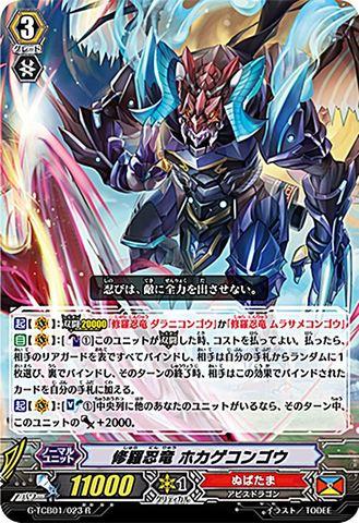 修羅忍竜 ホカゲコンゴウ R GTCB01/023(ぬばたま)