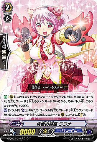 桃色の朝星 ララナ R GCB03/016(バミューダ△)