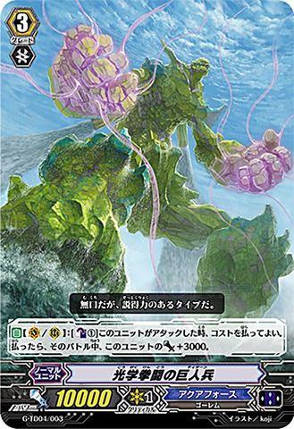 光学拳闘の巨人兵 GTD04/003(アクアフォース)