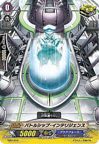 バトルシップ・インテリジェンス TD07/015(アクアフォース)