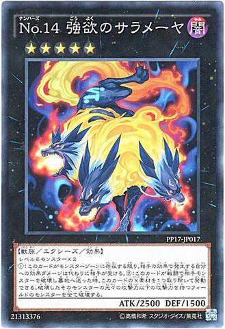 No.14 強欲のサラメーヤ (Normal)6_X/闇5