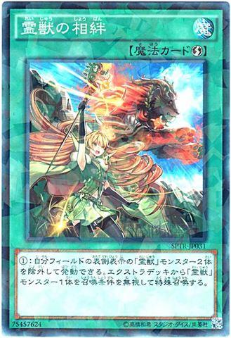 霊獣の相絆 (N-Parallel/SPTR)青眼1_フィールド魔法
