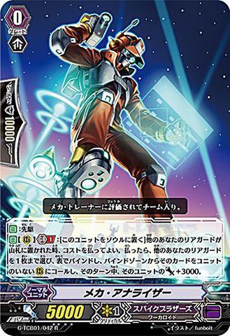 メカ・アナライザー R GTCB01/042(スパイクブラザーズ)