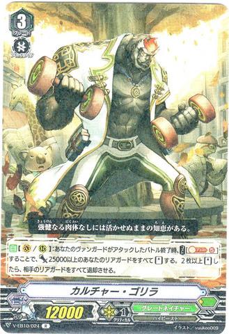 カルチャー・ゴリラ R VEB10/024(グレートネイチャー)