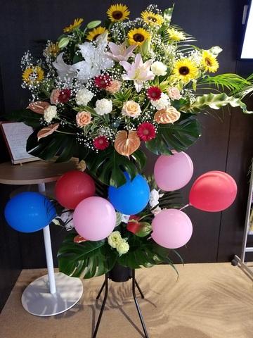 sb-201 バルーンスタンド花