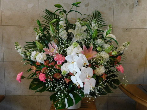 cs-152 葬儀生花[お悔やみのお花](ご供花)