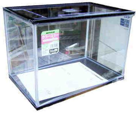 ニッソー カラースリー水槽L ブラック(40cm水槽)