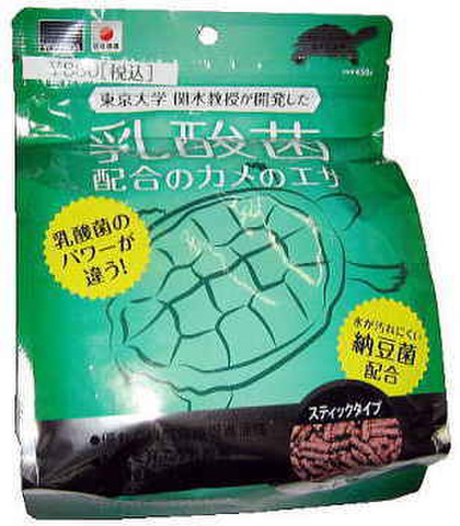 吉田飼料 東大教授が開発した乳酸菌カメのエサ(トレビオ カメのエサ)